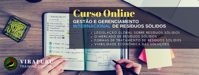 Curso online Gestao e Gerenciamento de Resíduos Sólidos