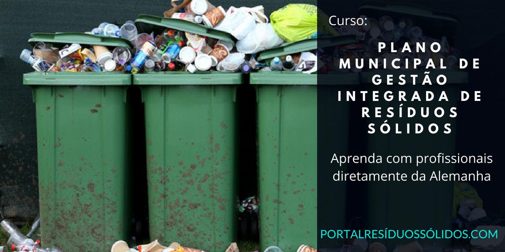 Elaboração do plano municipal de resíduos sólidos