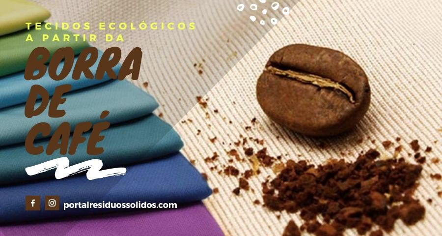 Tecidos a partir da borra de café