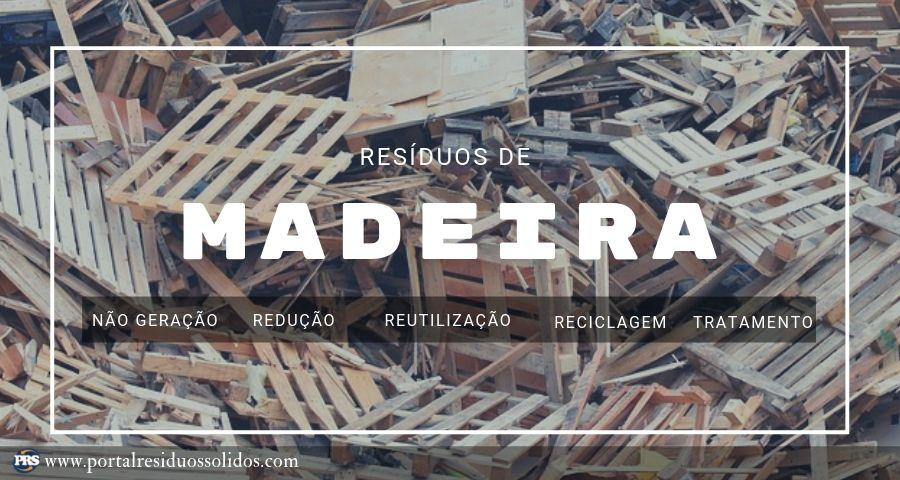 Resíduos de madeira