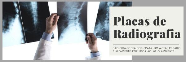 Composição das Placas de radiografia