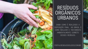 Destinação ambientalmente correta dos resíduos orgânicos