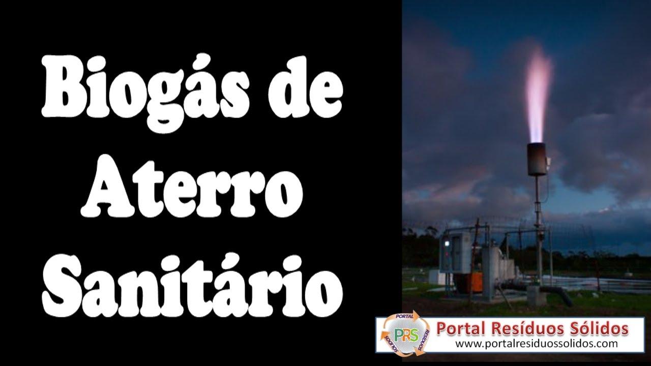 Vídeo Aula sobre Biogás de Aterro Sanitário