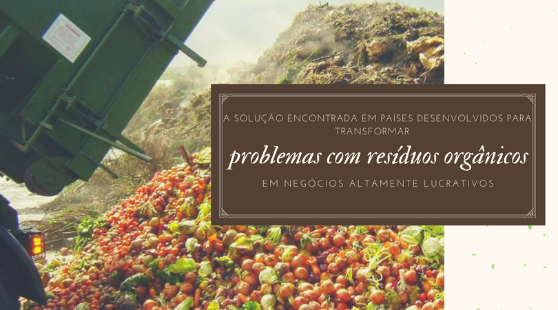 A solução encontrada em países desenvolvidos para transformar problemas com resíduos orgânicos em negócios altamente lucrativo. Conheça como realizar o tratamento adequado dos resíduos orgânicos com os biodigestores urbanos.
