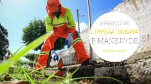 Manejo de resíduos sólidos da limpeza urbana