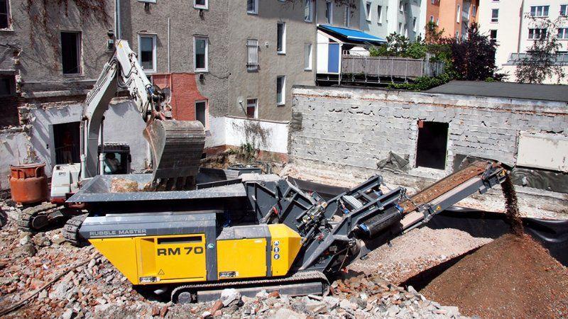 Reciclagem de resíduos da construção civil