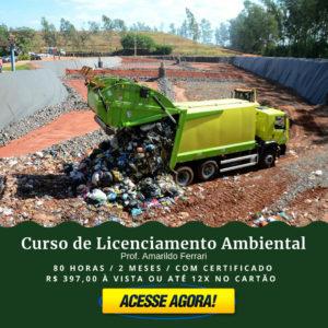 Curso de Licenciamento Ambiental no Portal Residuos Solidos