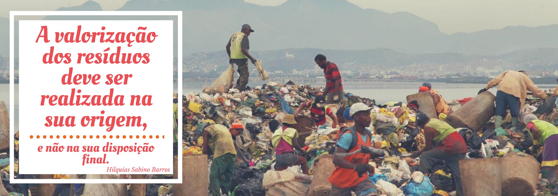 Desvalorização dos resíduos