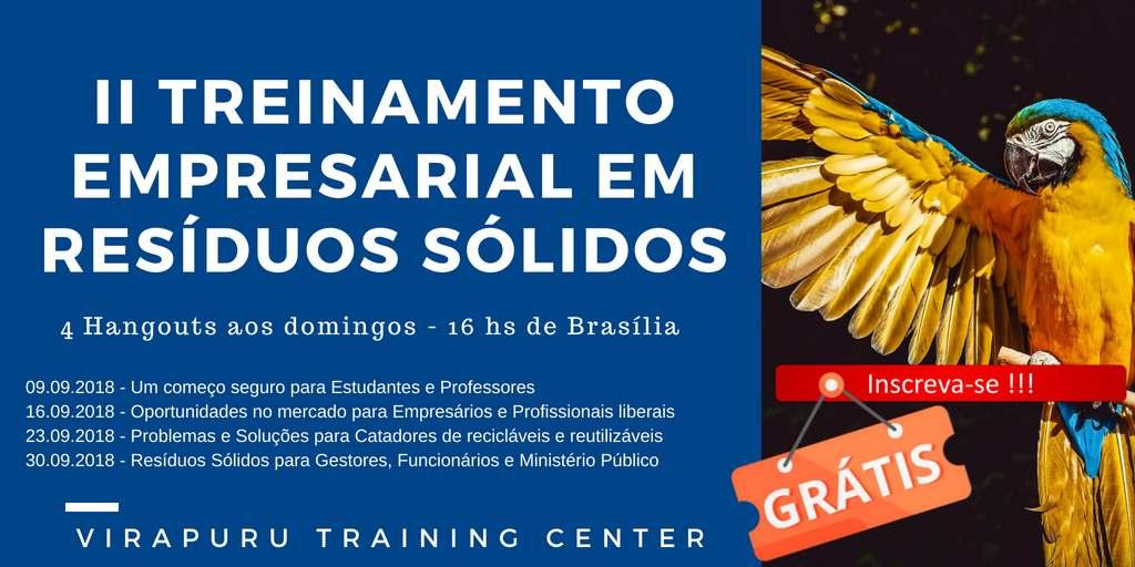 O Virapuru Training Center é o maior especialista em energia e meio ambiente em língua portuguesa